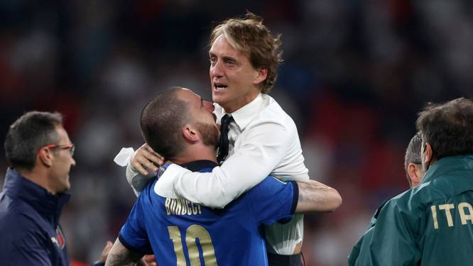 Mancini emotioneel na behalen titel: 'Deze jongens waren geweldig'