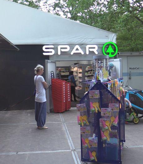 Beekse Bergen heeft na verwoestende vlammenzee nieuwe supermarkt