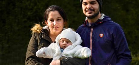 Une famille kurde qui avait fabriqué des masques en tissu pour la population contrainte de quitter la Belgique