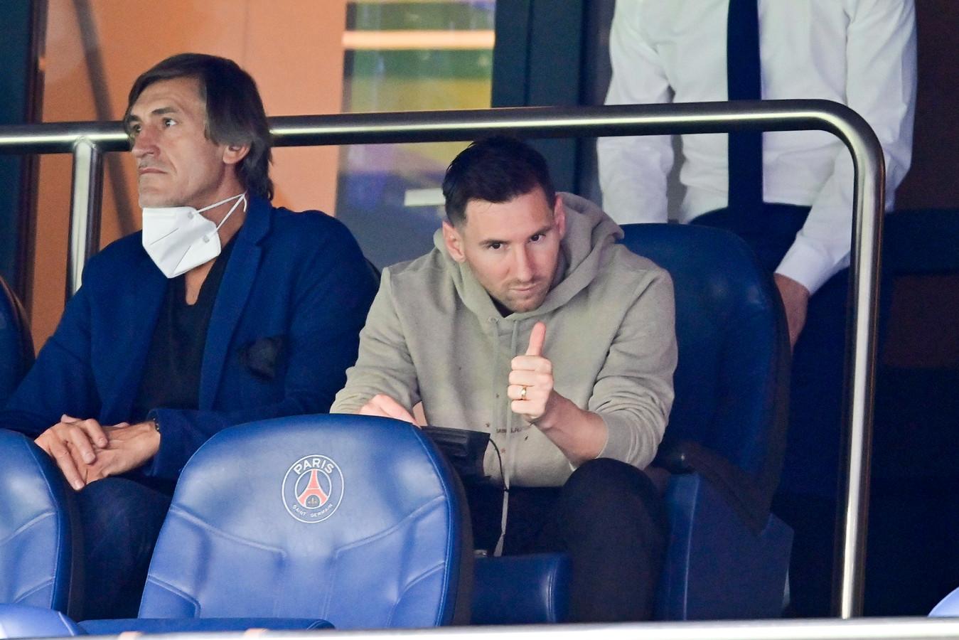 En tribunes le week-end dernier, Lionel Messi sera bien sur la pelouse mercredi à Bruges.