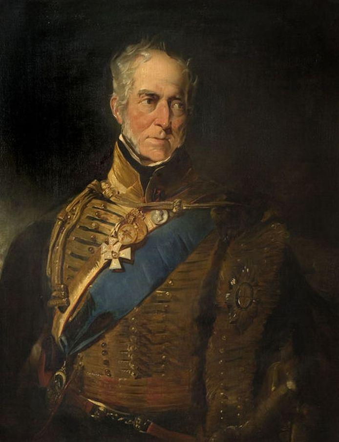 Henry Paget, de graaf van Uxbridge.