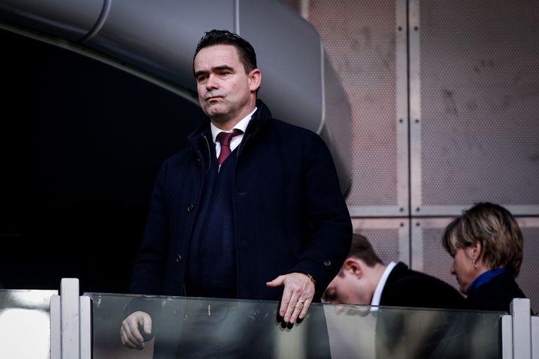 Ajax-directeur Marc Overmars. Beeld BSR Agency