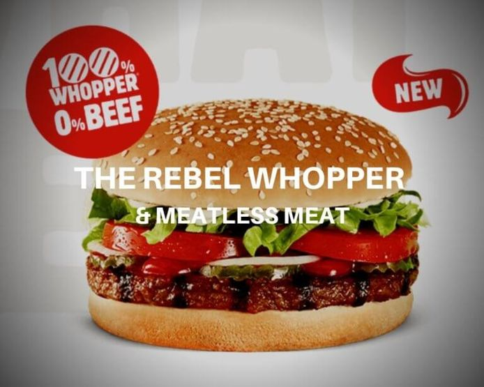 De Rebel Whopper.
