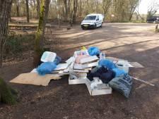 Afval in vennennatuur Wijchen: ook dit keer liet de dumper geen visitekaartje achter
