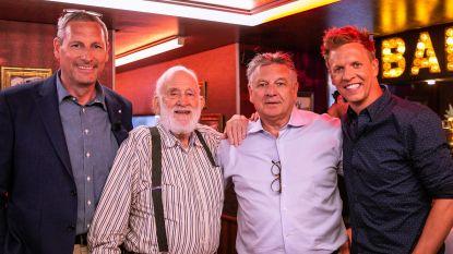 Natalia en de vaders van Gert en James komen vanavond op bezoek in 'Gert Late Night'
