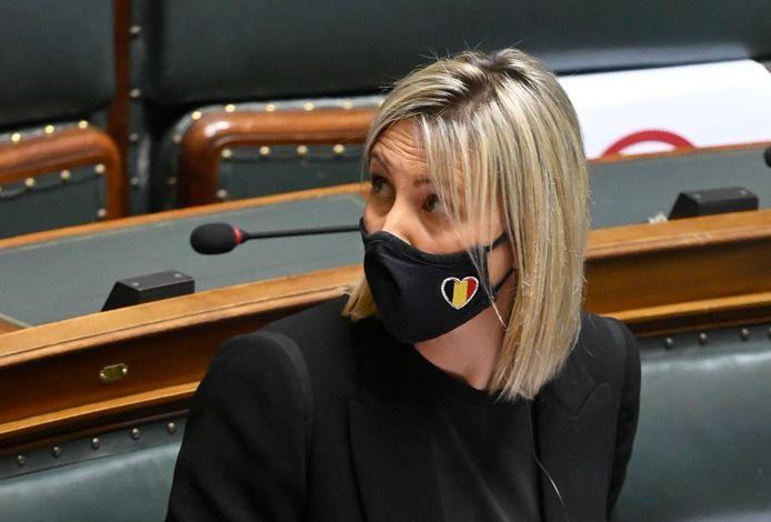 Minister van Defensie Ludivine Dedonder
