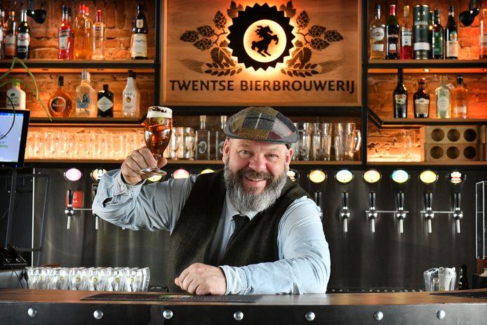 Frank Hendriks van de Twentse Bierbrouwerij.