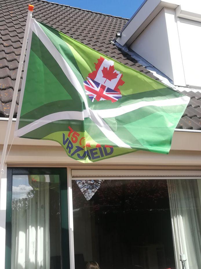 Een speciale vlag in Winterswijk