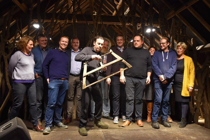 Freddy De Vadder zorgt voor humor in Roesbrugge