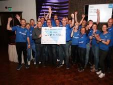 Roparun Lingewaard wint award in Huissen