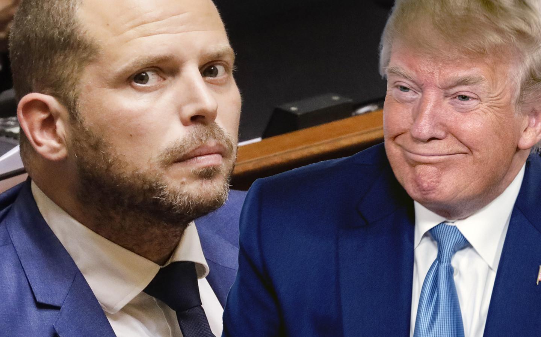 Theo Francken is in De Zondag lovend over de eerste ambtstermijn van Donald Trump.