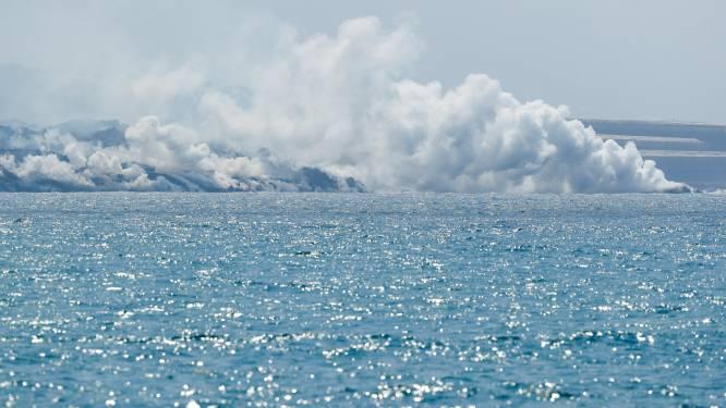 La Palma tien hectaren groter door vulkaanuitbarsting