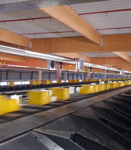 Boete voor achterover drukken van pakjes bij DHL in Zaltbommel