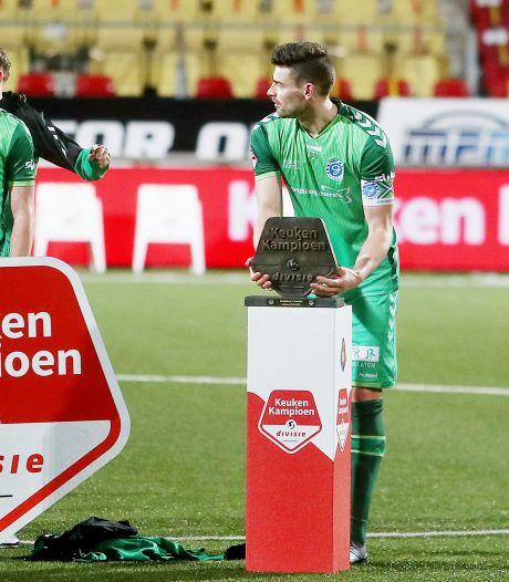 Captain Van de Pavert prijst teamgeest De Graafschap na roerige week: 'Juiste antwoord gegeven'