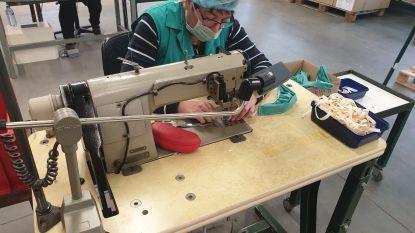 Blankedale produceert 2.000 mondmaskers per dag