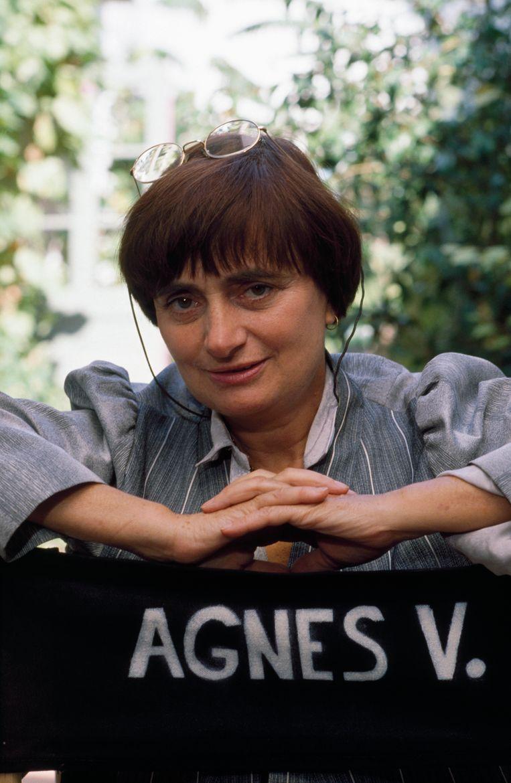 Agnès Varda Beeld null