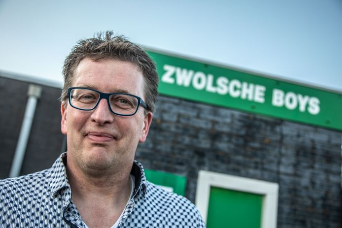 SV Zwolsche Boys clubman Bart Ester is tegenwoordig.