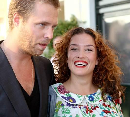 Thijs en Katja toen ze nog getrouwd waren.