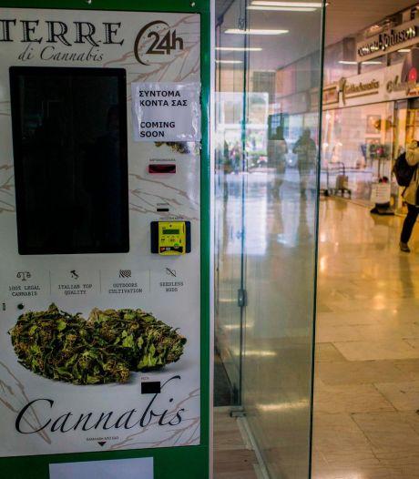 Un distributeur automatique de cannabis installé à Athènes