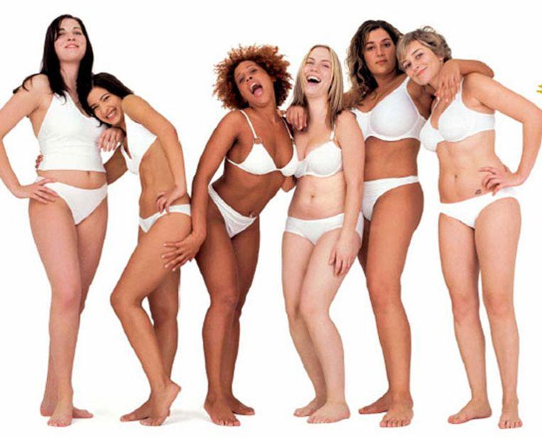 Dove is pionier in 'real beauty'. Al meer dan tien jaar toont het merk 'echte meisjes'. Beeld kos