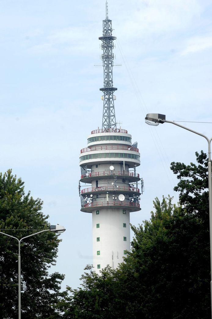 Hét symbool van Roosendaal. De tv-toren.