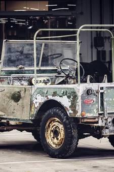 70 jaar Land Rover wordt gevierd met restauratie 'Amsterdamse' stamvader
