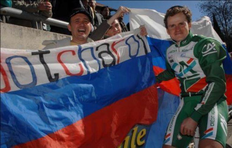 Vorig jaar won de Rus Alexandre Botcharov de Ronde van de Middellandse Zee. Beeld UNKNOWN