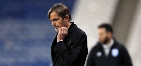Cocu hangt ontslag bij Derby County boven het hoofd