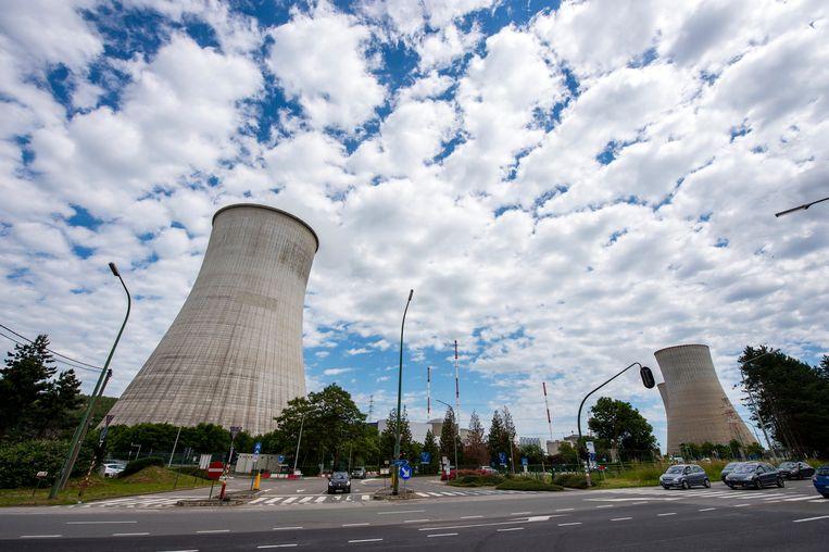 Kerncentrale Tihange.  Beeld Photo News