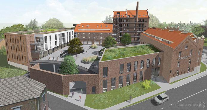 Enkele toekomstbeelden van Brouwerij Eylenbosch