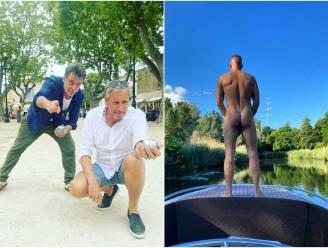 SHOWBITS.  Petanquen in Saint-Tropez en wie staat hier in zijn blootje?