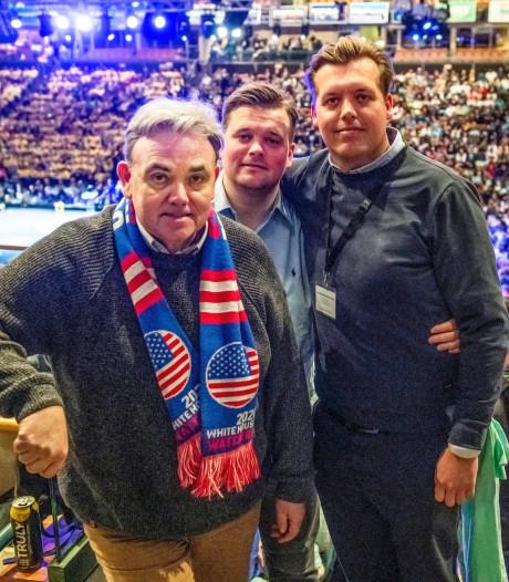 Willem Post met zoons naar voorverkiezingen: 'Die eerste keer in New Hampshire wist ik niet wat me overkwam'