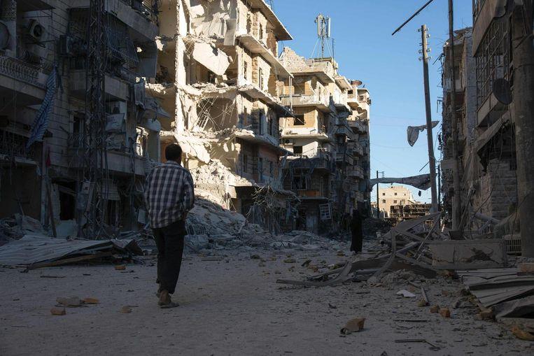 Aleppo. Beeld afp