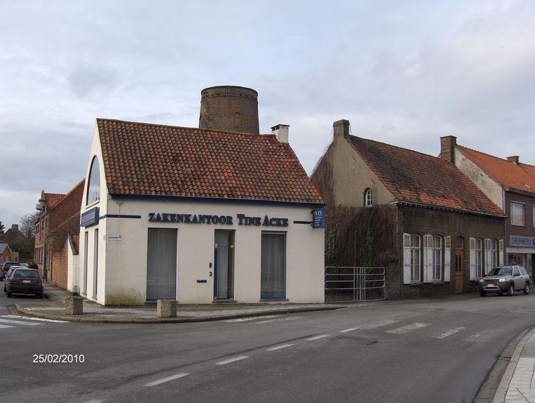 Zo zag de hoek van de Weststraat en Hoogwegel er voorheen uit...