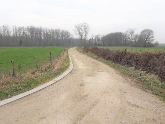 Trage weg aan de Ruiterij in Zuurbemde.
