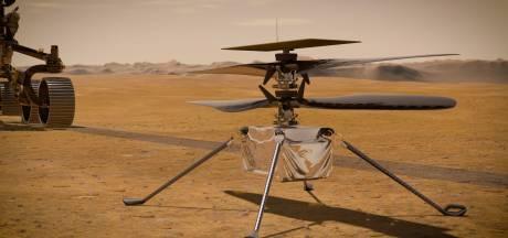 L'hélicoptère de la Nasa prêt pour son premier vol sur Mars dans deux jours