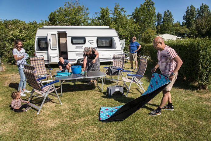Campingpark Ons Buiten in Oostkapelle afgelopen zomer.