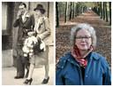Links: Joop Piller was van Joodse afkomst. Hij trouwde in 1939 met de niet-Joodse Liesje Veldman. Rechts: Micky Piller, dochter van Joop Piller.