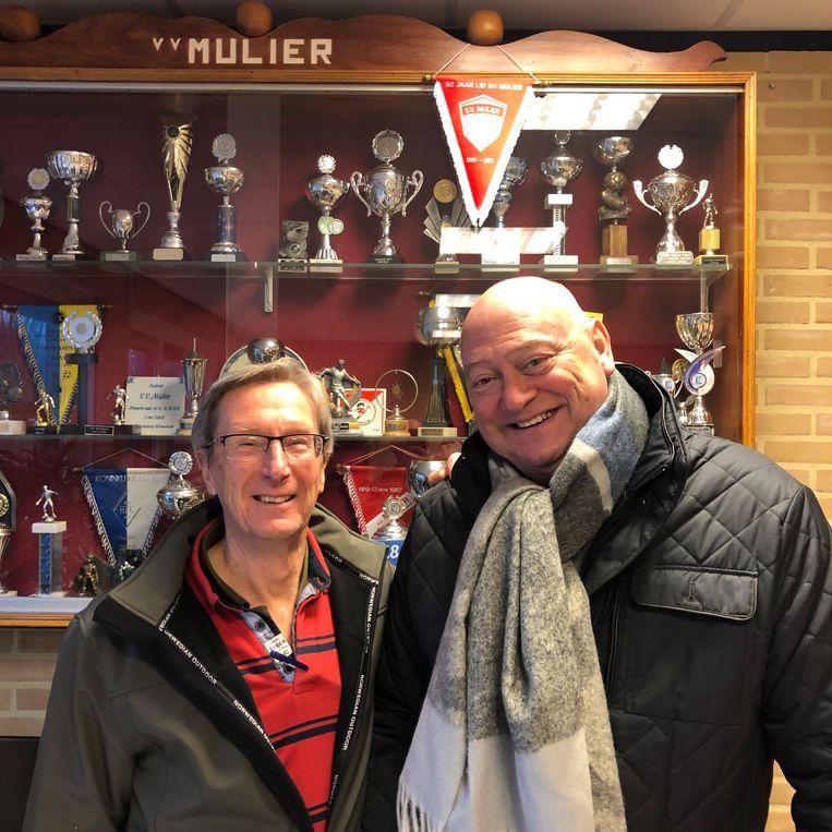 Jac König (l) en Hans van Steijn Beeld Toine Heijmans