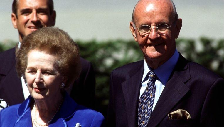 In juli 1999 vierde Roger De Clerck zijn 75ste verjaardag. Onder meer Margaret Thatcher en George Bush senior kwamen mee vieren in Wielsbeke.