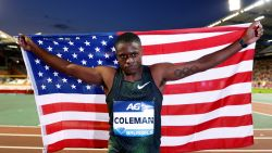 """Topsprinter Christian Coleman miste drie dopingcontroles"""