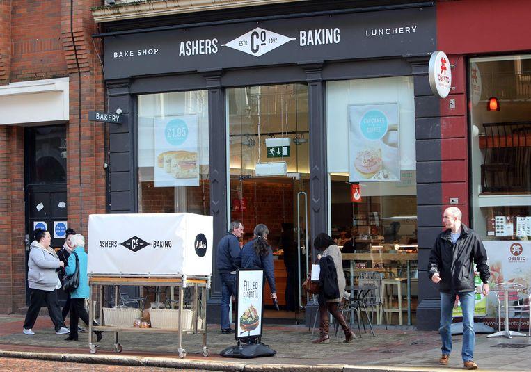 De Ashers Baking Company in Belfast. Beeld AFP