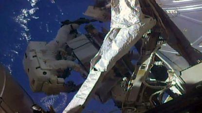 Twee astronauten van ISS maakten vandaag ruimtewandeling van meer dan 6 uur