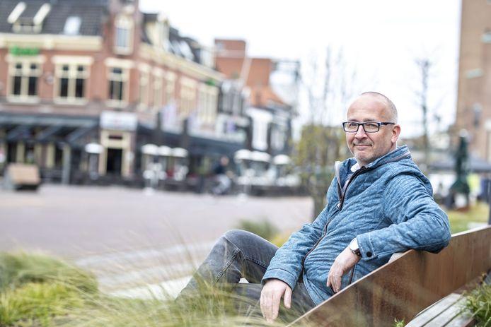 Rob Berkhout, centrummanager in Hengelo.
