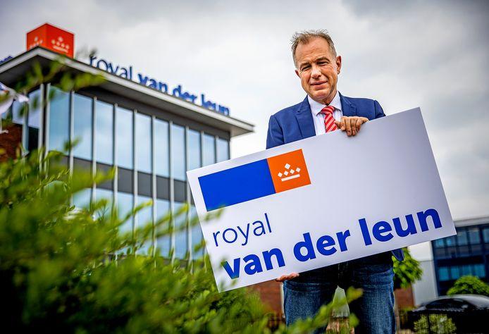 Martin den Breejen is directeur van Royal van der Leun. ,,Zo'n titel geeft je als firma toch wat extra cachet.''