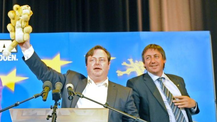 Bart De Wever en Jan Jambon. Beeld UNKNOWN