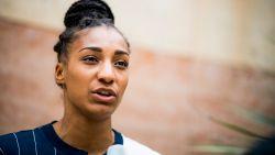 """Nafi Thiam over records en het leven als vrouwelijke sportster: """"De perfecte atlete bestaat niet"""""""