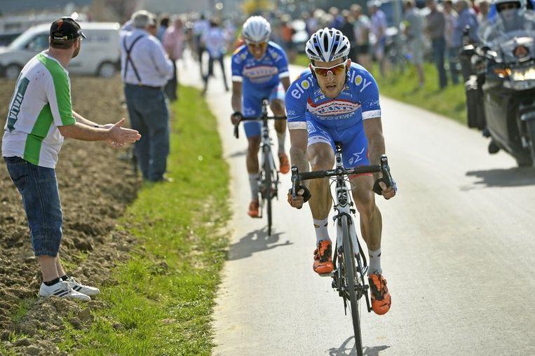 Tim De Troyer toonde zich al heel offensief in de Driedaagse De Panne. Beeld PHOTO_NEWS
