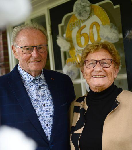 Herman en Hendrika zijn zestig jaar getrouwd: 'We gingen vaak dansen in Borculo en Geesteren'