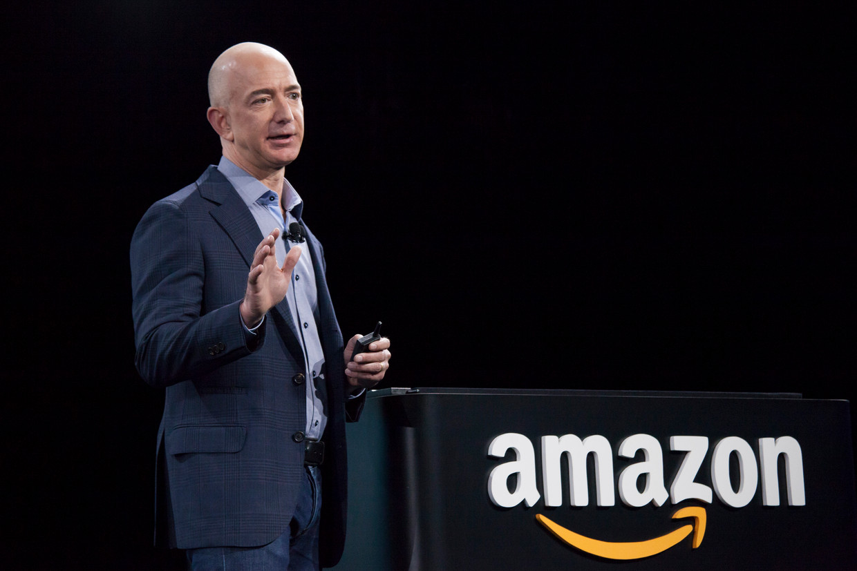 Jeff Bezos Beeld Getty Images